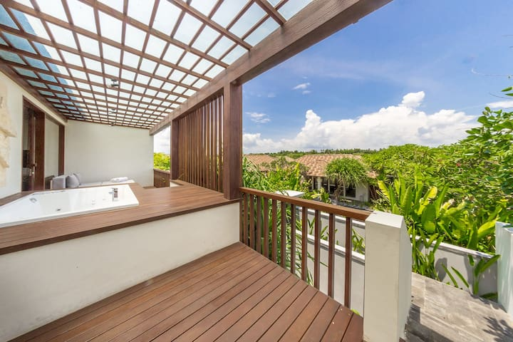 Appartment with Jacuzzi on balcony - Sukawati - Appartement