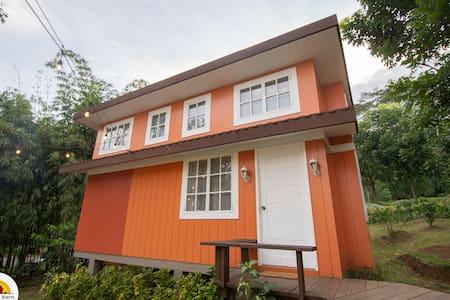 Tiny House at The Red Barn (Orange)