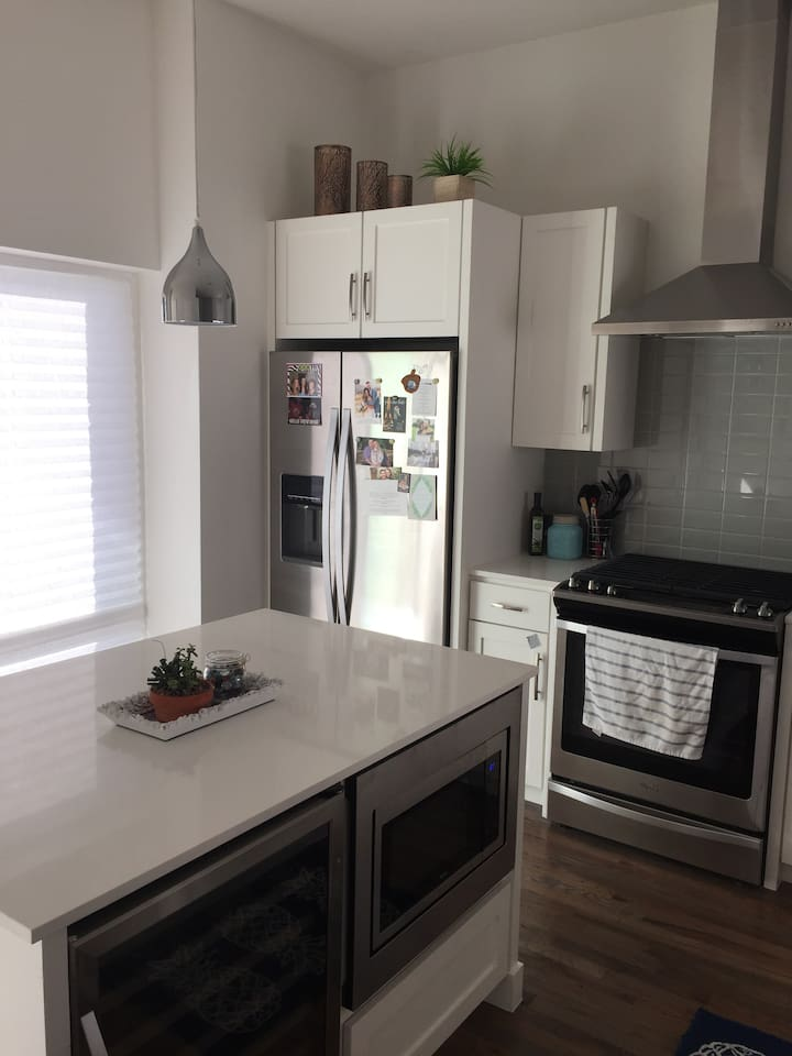 Full Kitchen with a Wine/Beer fridge