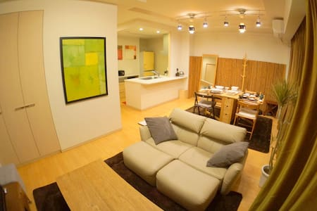 3min Namba 83㎡ 2bedroom FreeWiFi - Naniwa-ku - Appartement