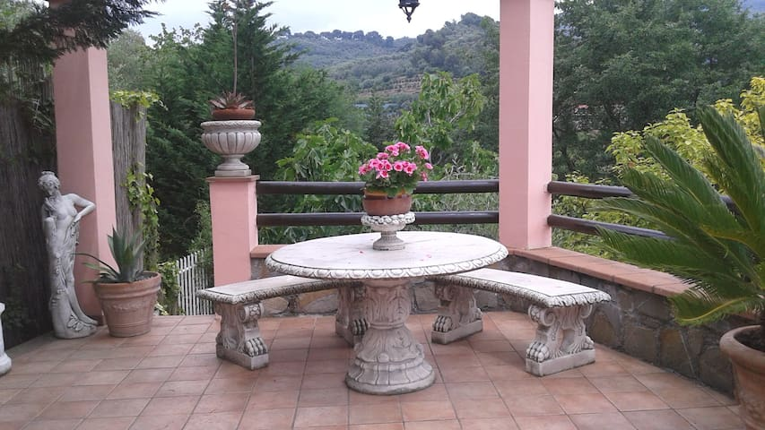 The charming terrace - Imperia