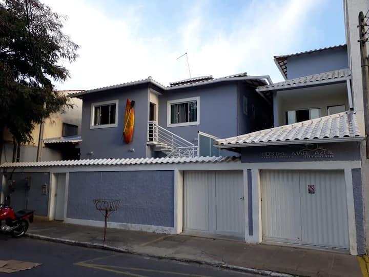 Hostel Mar Azul 2, suíte 09