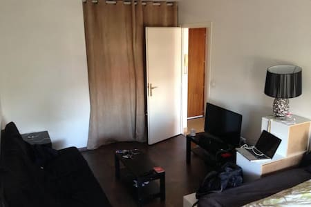 Studio calme proche de la Douane de Genève - Gaillard - Apartamento