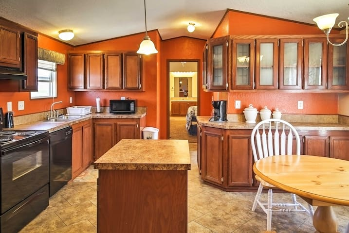 NEW! Peaceful 3BR Carlsbad Home w/ Mountain Views!