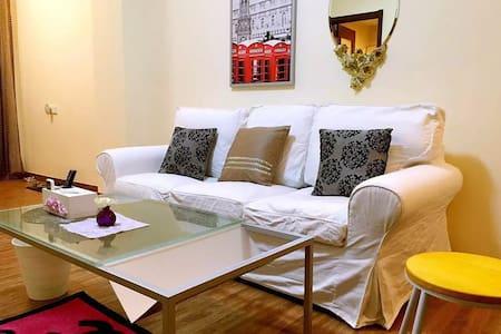 贝卡妹妹の家之紫莲居广州白云机场转机首选空港国际复式豪装二房 - Apartamento
