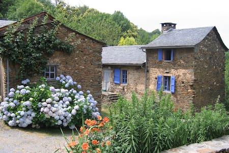 """Ancienne ferme rénovée """"maison au  volets bleu"""" - Curvalle"""
