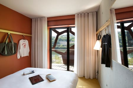 Your beautiful room with a breathtaking view of the lake