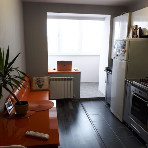 Spacious apartment in new house