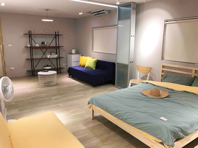 The Grey Suite/Muji Style/3Min2 Shihlin MRT/LUX