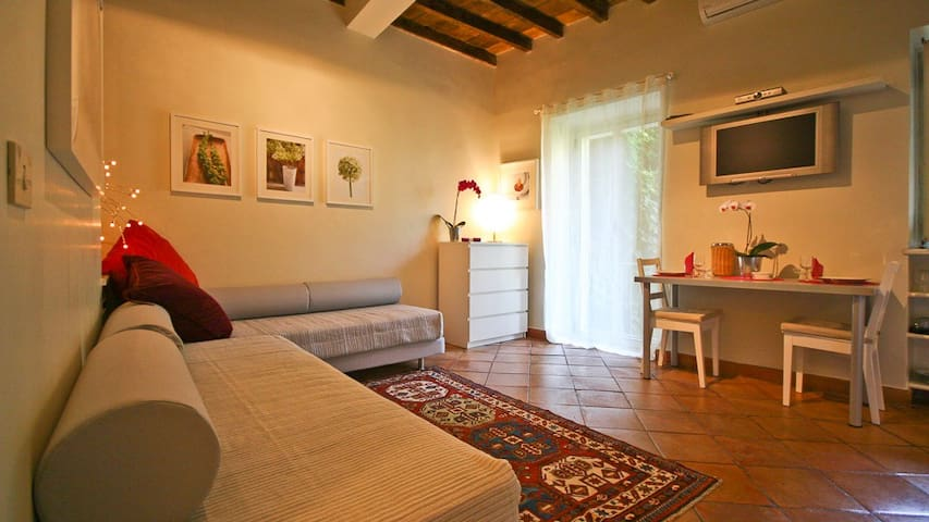 Studio with balcony in heart of Trastevere