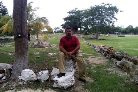 Cabañas san jose con cenote - Blockhütte