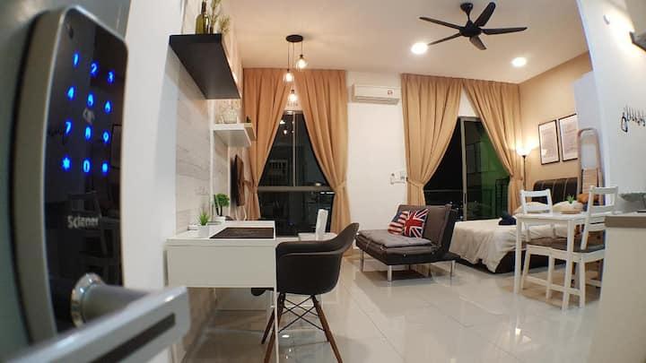 1-3pax Cyberjaya Cybersquare Cozy Wifi Home Design
