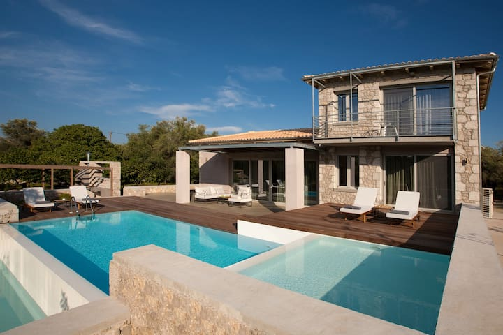 Aggelos Brand New Exclusive Villa with Private Pool (Agrikies Villas)