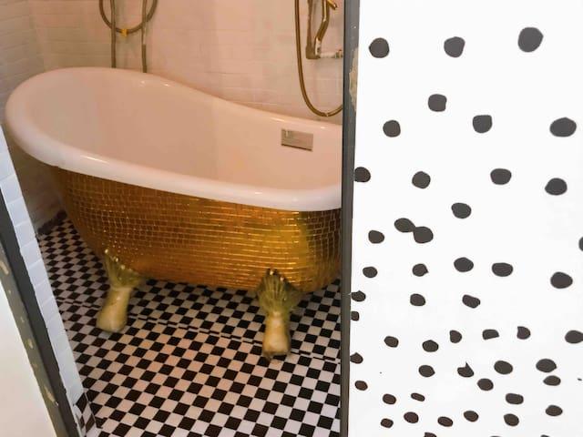 投影+浴缸 溜达家波尔卡 一房里的精致生活 整租 3号线地铁口 龙岗中心城大运中心万科广场