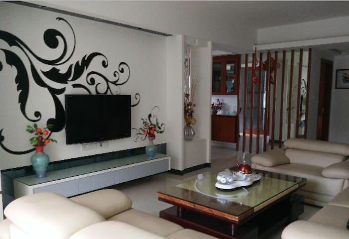 阳光充足环境优美精装两居室出租 - Anqing Shi - Casa