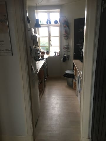 Cozy appartment in lovely west end of Aalborg
