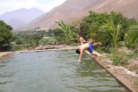 Fundo Huabayor, turismo vivencial y aventura.