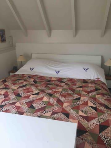Slaapkamer één, de ouderlijke slaapkamer