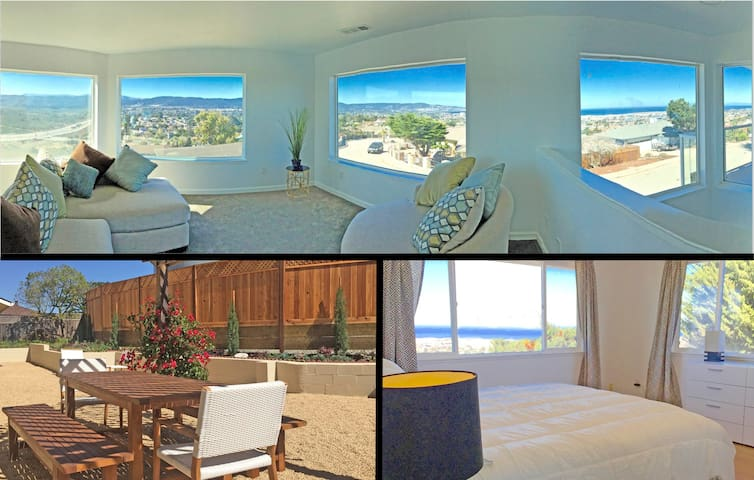 Incredible 270° Monterey Bay View in Spacious Home - Seaside - Dům