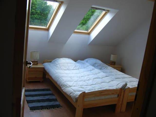 Słowiański Płomień - sypialnia na piętrze