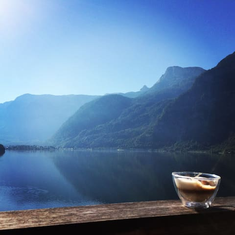 Caf`Latte in the morning with this view?