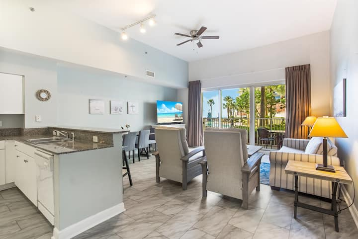 Unit 125: GROUND FLOOR, ACCESS TO POOL AND BEACH!