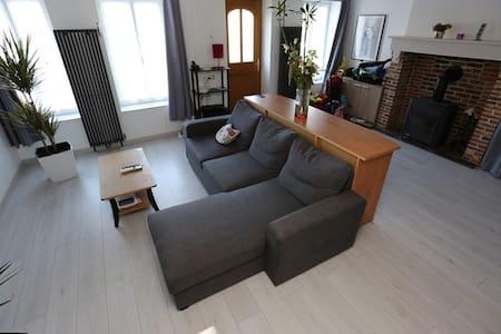 Maison 6 pers prox Honfleur - Conteville - Huis