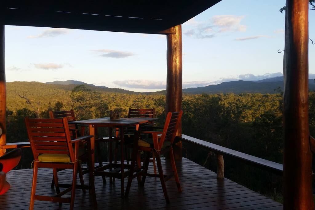 View from rear veranda ❤