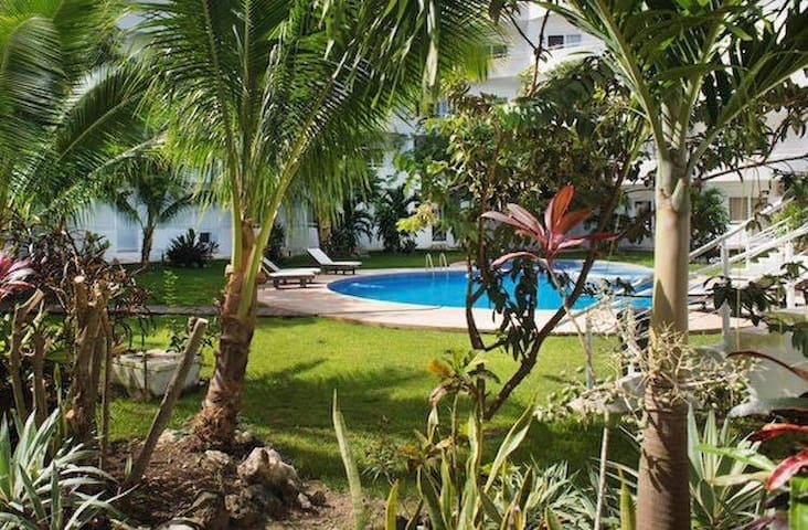 Enjoy the swimming pool and all common areas filled with green views and tranquility.