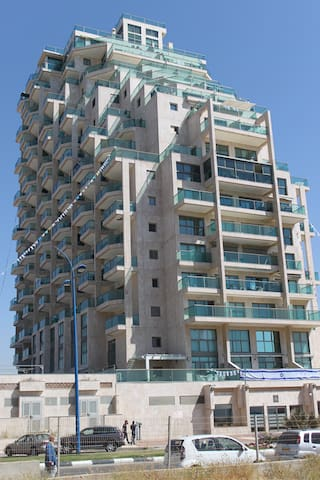 The Best Sea View Flat for the Best Travelers - Ashkelon - Apartemen