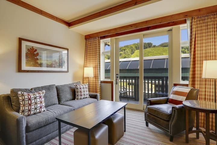 Studio @ Stowe Mtn Lodge - Professional Housekeepers Following CDC Guidelines