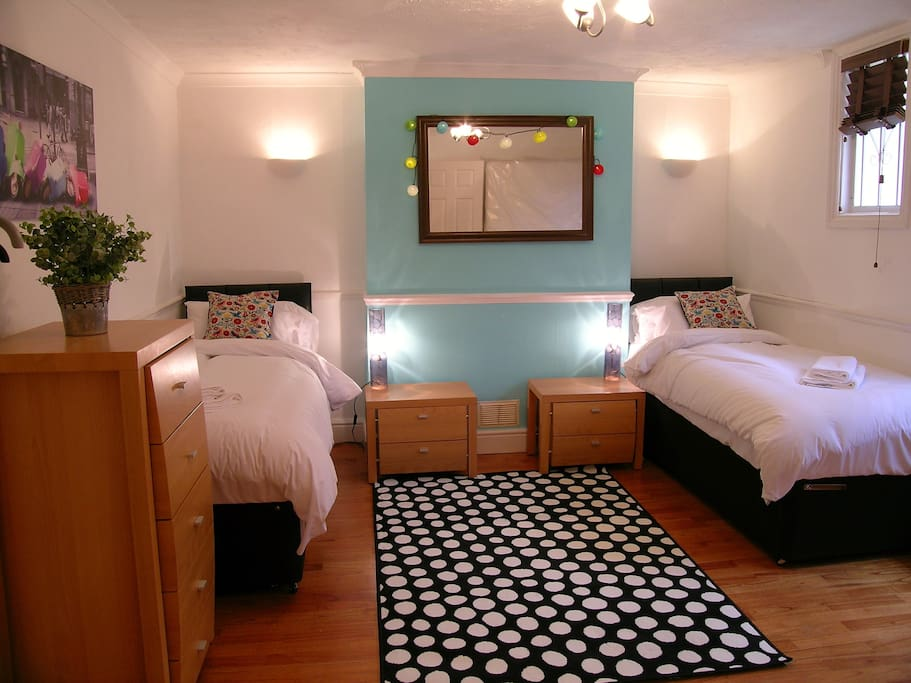 Bedroom 1, can be double or 2 singles