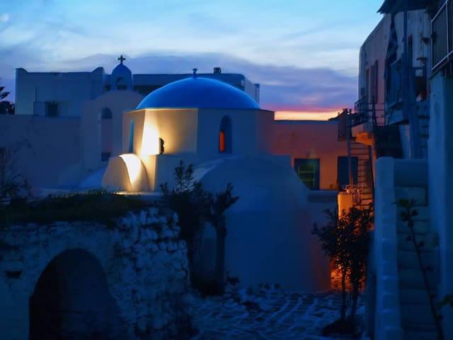 Historical Kastro Apartment - Antiparos - Pis