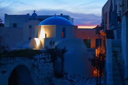 Historical Kastro Apartment - Antiparos - Huoneisto