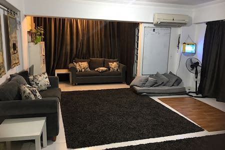 Modern double room Nasr city Area 8 share family