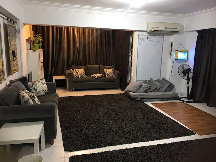 3 -1 bed 2bath Big Modern Clean fully equip flat