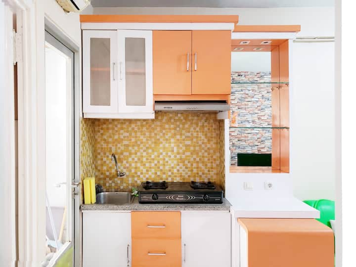 Nice Minimalist 2 BR apartment in Kelapa Gading