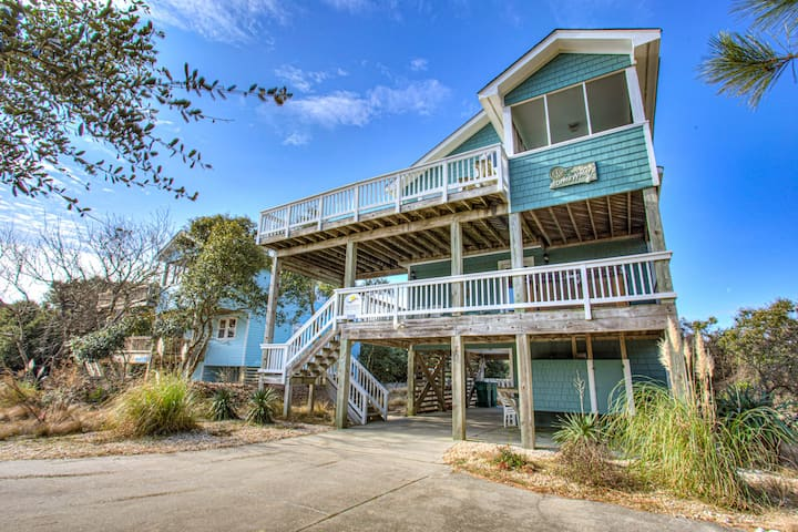 1625 Drift-Woods * 9 Min Walk to Beach * Pool & Hot Tub * Foosball