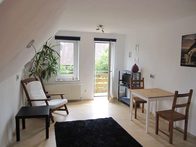 Wohnung mit Balkon in Strandnähe