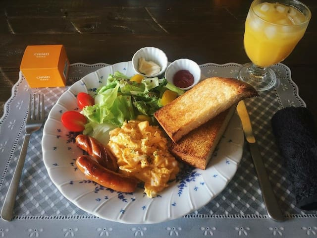 RachelCafe B&B Freshly Breakfast!!! Room C 2people