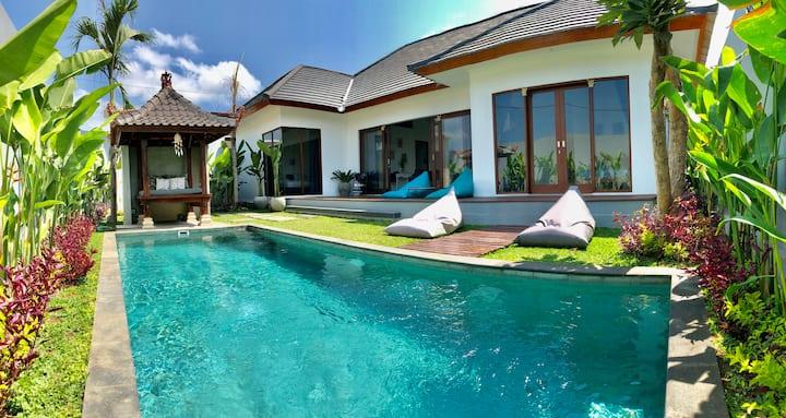 Modern 3 Bedroom Family Villa in quiet Umalas