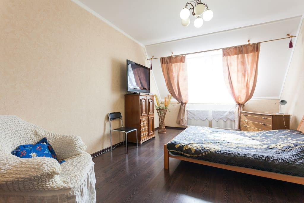 комната со спальным местом