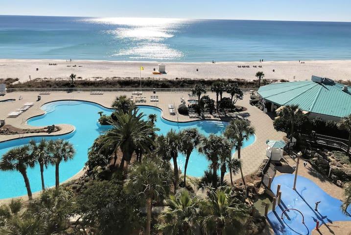 Beachfront Resort Condo Top Floor Many Amenities