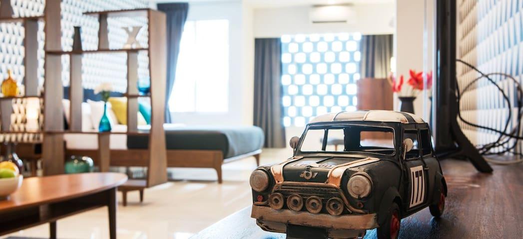 Luxury Modern Retro Villa, Jacuzzi Chiang Mai - Chiang Mai - Villa