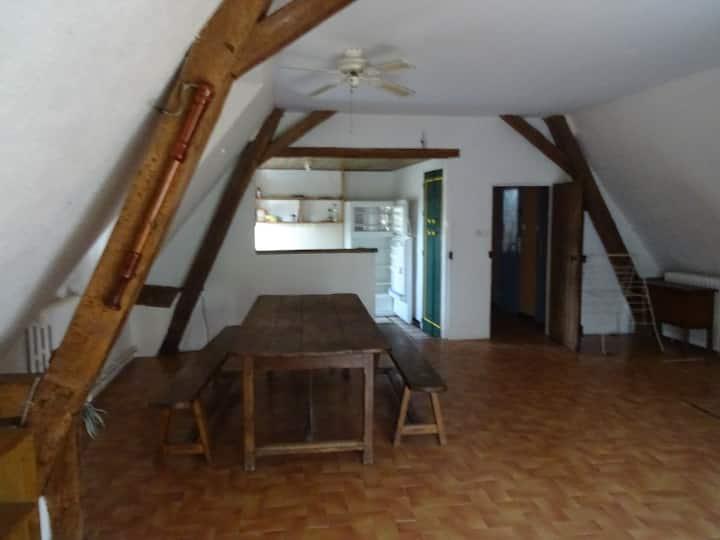 Appartement à la campagne à deux pas de la ville