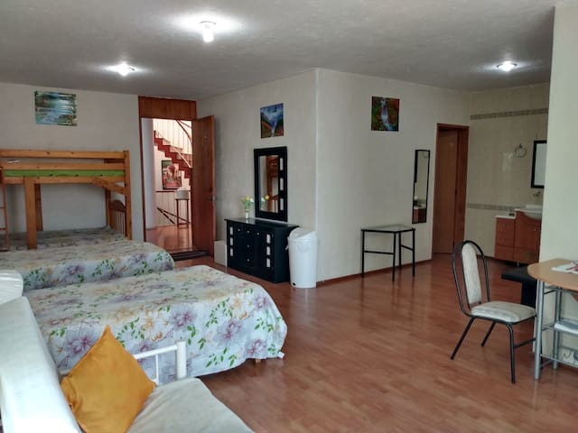 Good view from the balcony