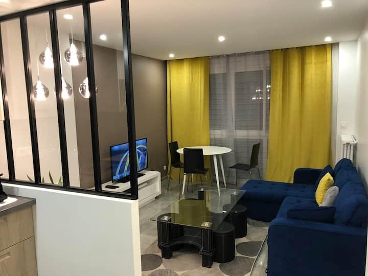 Bel appartement à 9min de Paris Saint Lazare