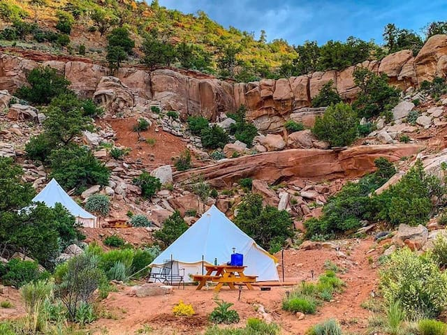 Zion Glamping Adventure -Tent 1