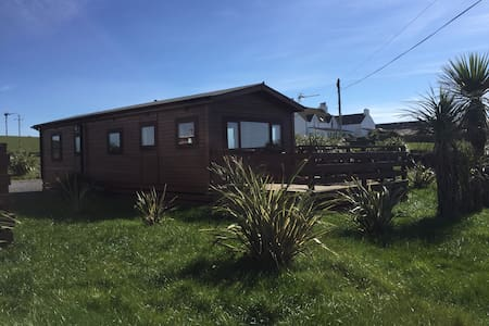 Lodge cabin with fabulous view - Portpatrick - Chalé