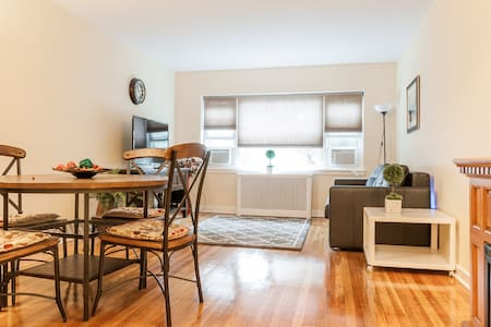Bright fully renovated Apt by St Peters University - Jersey City - Wohnung
